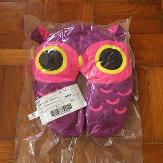 Owl neck pillow from The Body Shop