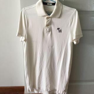 🚚 Abercrombie & Fitch Iconic Moose Polo Tee