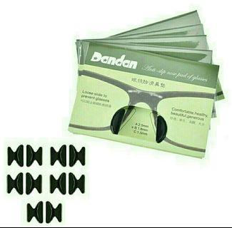 Anti-slip Nose pad for glasses Black (M/L size)