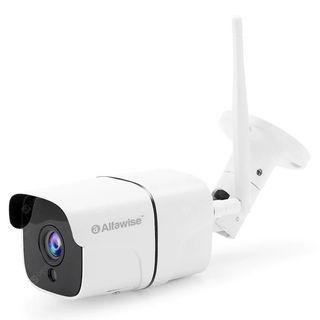 Alfawise Wireless 1080P HD Smart WiFi IP Camera, IP66 Waterproof - WHITE