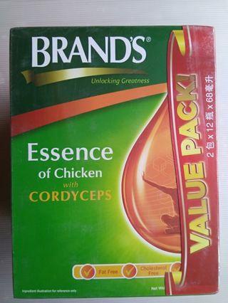 🚚 BNIB Brand's Essence of Chicken with Cordyceps (24 bottles x 68ml)