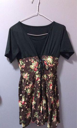 Cute mini dress Sz 6-8