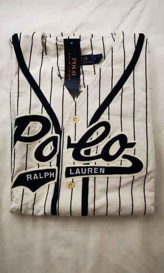 Ralph Lauren Polo Bear Baseball Jersey