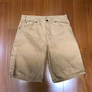 (Size 32w) Dickies 卡其色百搭短褲