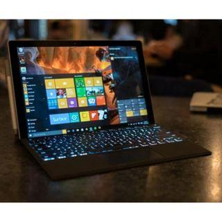 Microsoft Surface Pro 5 with Fingerprint ID Typecover