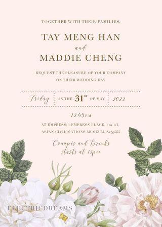 Wedding Invitation E-Invite