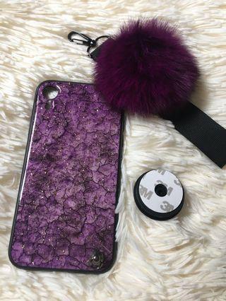 Iphone XR Casing ( Purple)