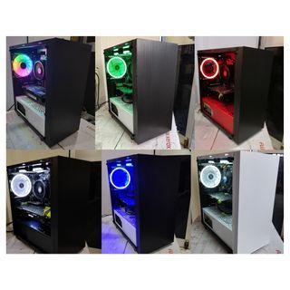 Ryzen 5 2600 + GTX 1070 8GB - Custom Gaming Desktop PC