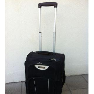 Sunrise 21 inches cabin luggage. Dimension is 53 x 26 x 22cm expandable to 26cm.