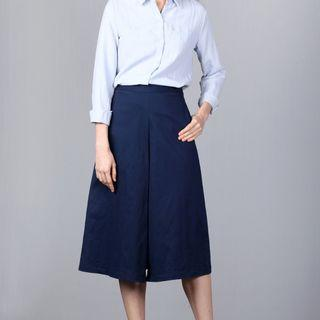BNWT Hollyhoque Shelby Culottes Pants Navy