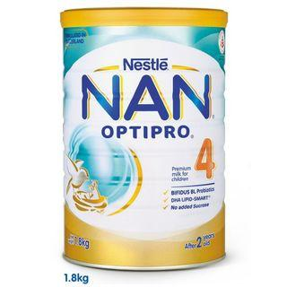 Nestle NAN Optipro 4 1.8kg Growing Up Milk Powder / Formula