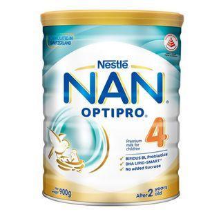 Nestle NAN Optipro 4 0.9kg Growing Up Milk Powder / Formula