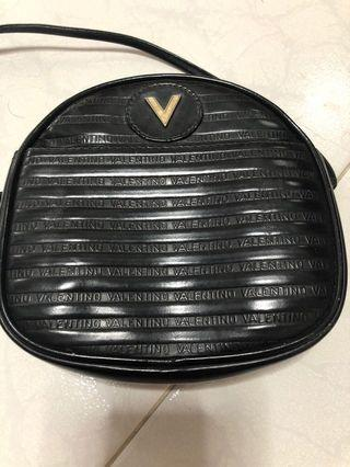 Mario Valentino black sling bag