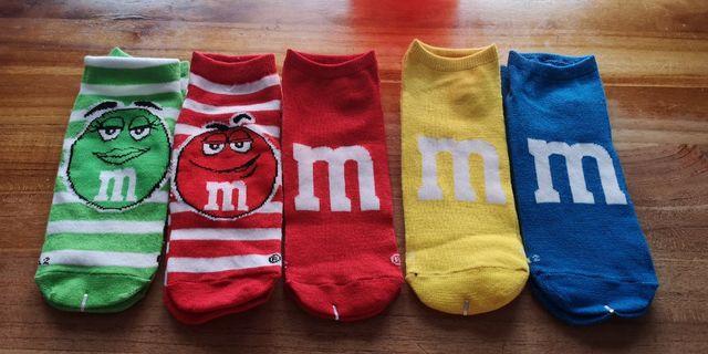 Assorted M&Ms Socks