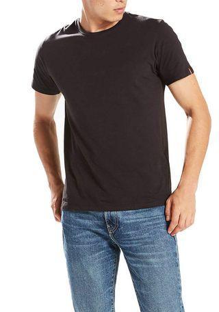 Levi's Slim Fit Black Crewneck Tee Shirt (2 pack)