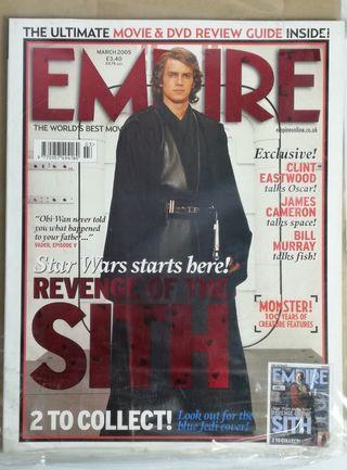 Star wars empire magazine 2005 sith