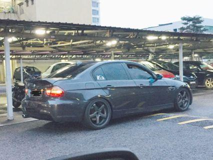 BMW Rims   Similar to Advan GT Design