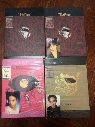 [VIXX CLEARANCE]VIXX 2016 conception trilogy albums ZELOS, KRATOS, HADES