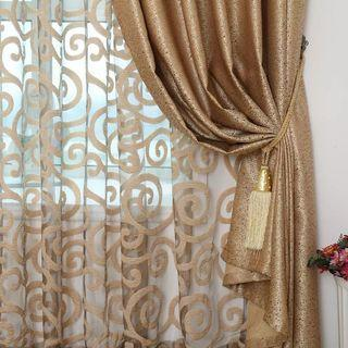 ✨ Customised Curtain