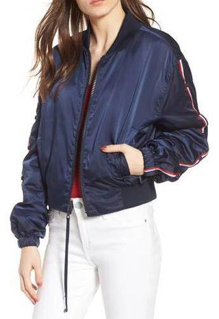 BNWT KENDALL AND KYLIE BOMBER JACKET
