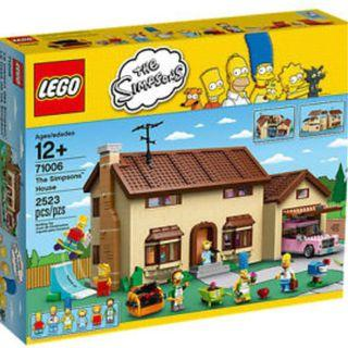 Lego simpsons full complete set
