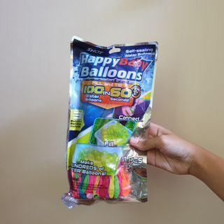 100 water balloons in 60 seconds!