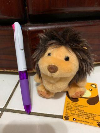 🚚 戽斗星球 獅子 玩偶#半價居家拍賣會