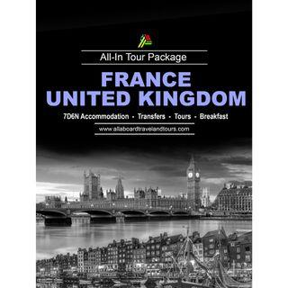 France and United Kingdom All-In Tour