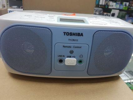 TOSHIBA  CD RADIO WITH USB PLAYER