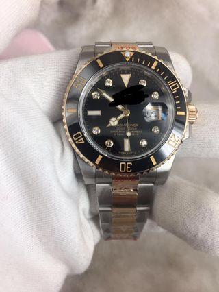 鑽石 潛水錶 真904鋼 真鑽 GM公司 玩具錶