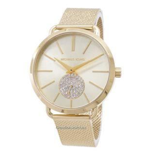 a64310c668e0 Michael Kors Portia Quartz Diamond Accent MK3844 Women s Watch