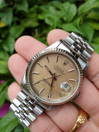 *CHEAPEST in the market* Steel Rolex Datejust Ref. 16234