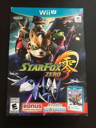 Wiiu starfox zero 美版