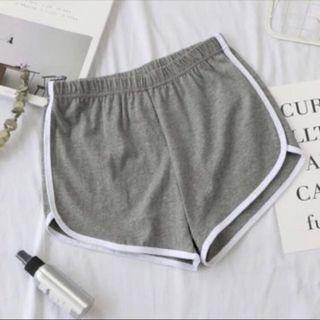 Grey Runner Shorts