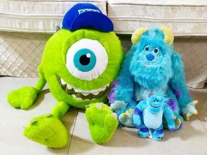 Monster Inc Soft Toy Plush Combo