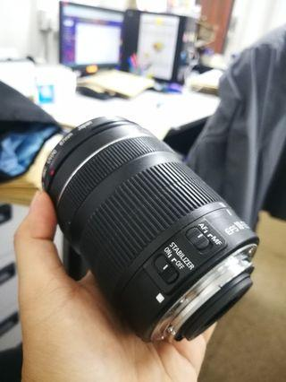 Canon lens 18-135mm (Used)