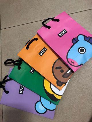 🚚 BT21 MINI GIFT BAGS