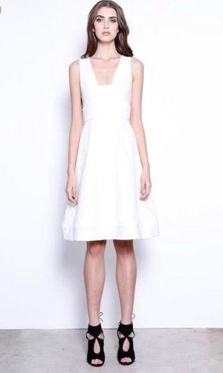Seduce White Dress Size 12