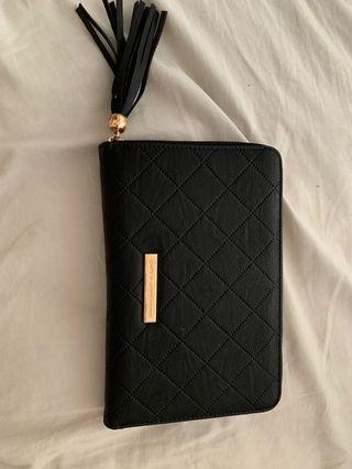 Colette Hayman Black Travel Wallet