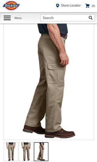 New Authentic Dickies Cargo Work Pants