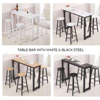 Bar Table With 2 Bar Chair