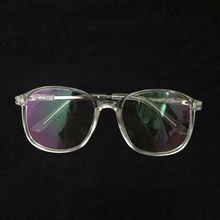 kacamata transparent