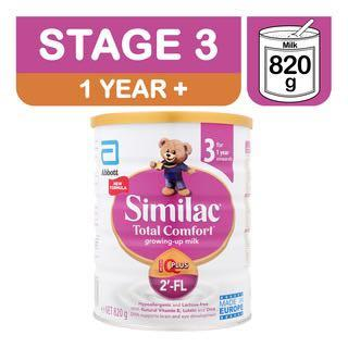 Abbott Similac Total Comfort Growing Up Milk Formula - Stage 3