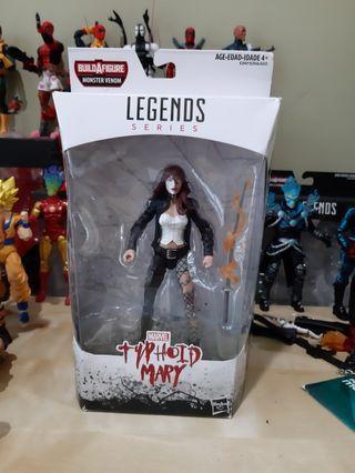 Marvel Legends TYPHOID MARY - dc ml avengers spiderman daredevil hasbro