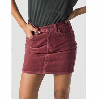 AFENDS Corduroy Mini Skirt