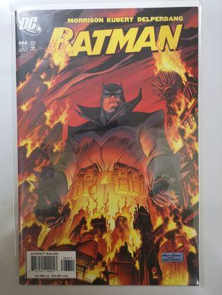 DC COMICS BATMAN #666
