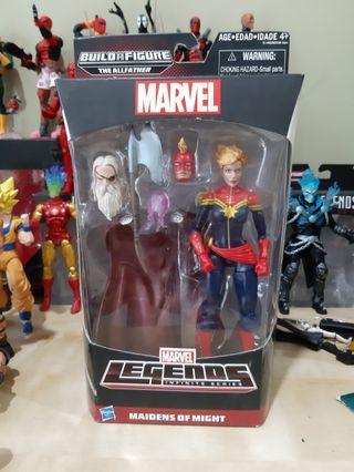 Marvel Legends CAPTAIN MARVEL Carol Danvers - ml dc avengers endgame hasbro