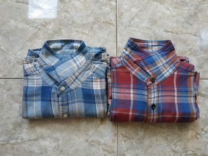 flanel uniqlo like new