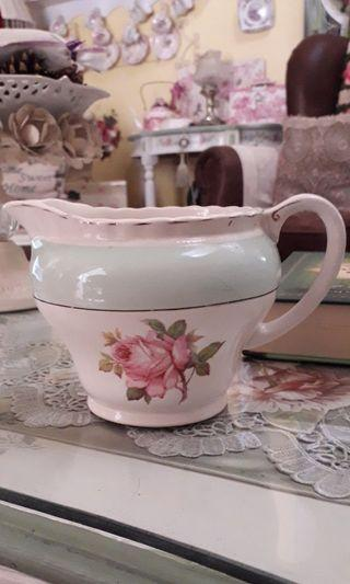 J&G Meakin Rare Large Rose Milk Jug