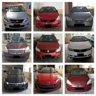Looking for cars for rent Various Cars we have (P Plate Friendly)
